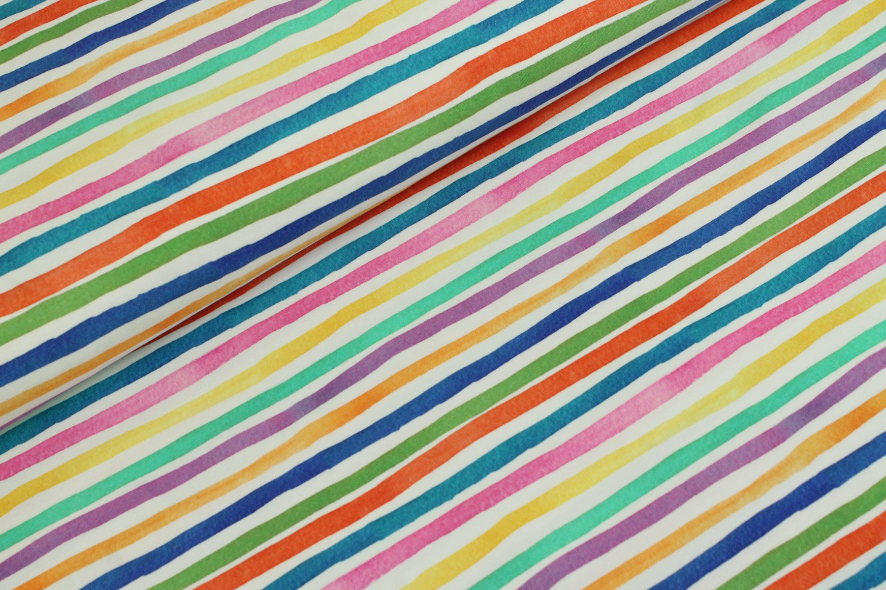 Stripes Tricot Wit - Stenzo