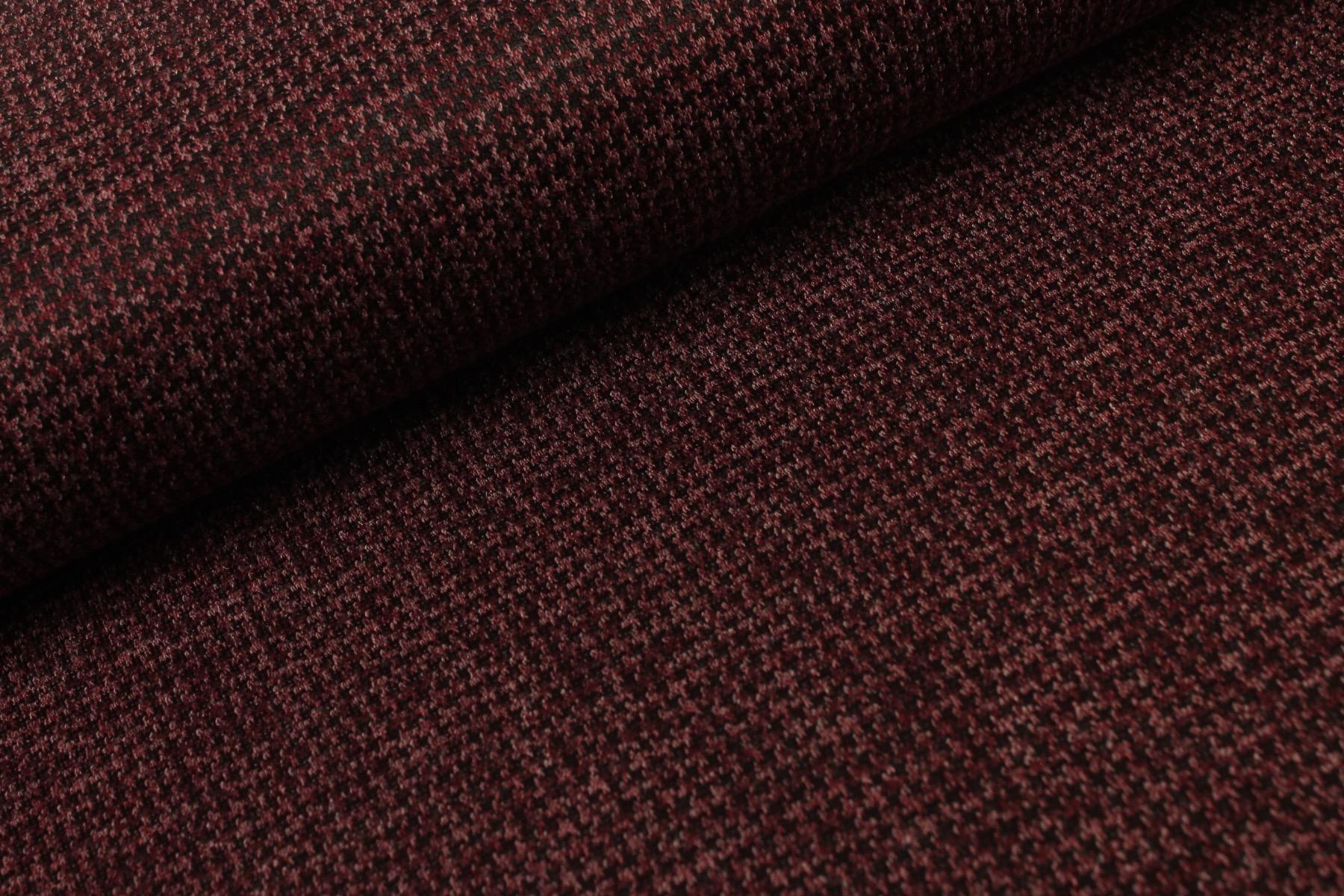 Mini Pied Tweed Bordeaux