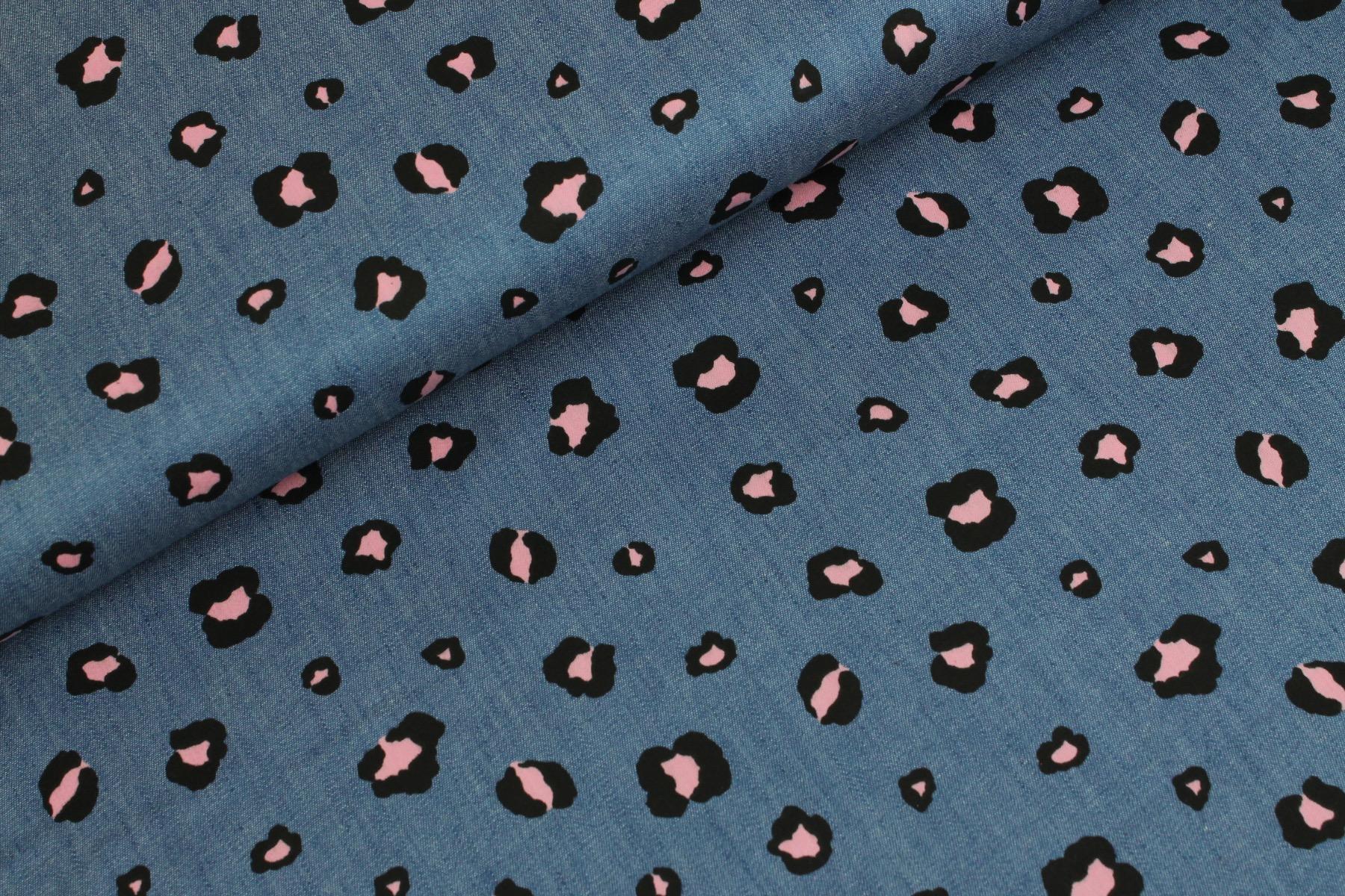 Leopard Love Jeans Roze - By Poppy