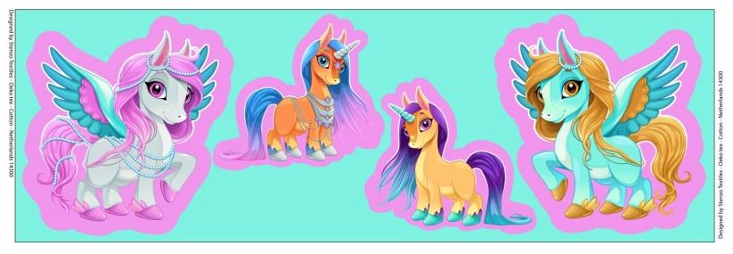 Little Pony Tricot Paneel - Stenzo