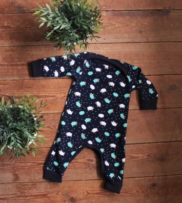 Schattig Megan Blue Babypakje